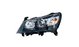 Emgrand ec7 sedan head lamp (negro)